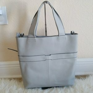 H by Halston Bags - H by Halston Pebble Leather Tote Handbag 68516ecb60ee0